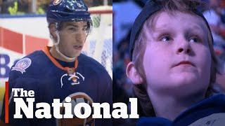 Download Travis Hamonic Helps Boy Cope With Father's Death Video