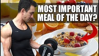 Download Is Breakfast Important For Fat Loss & Muscle Growth? Video