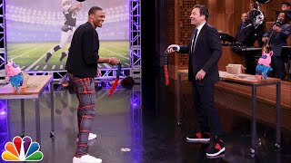 Download Random Object Football Toss with Russell Westbrook Video