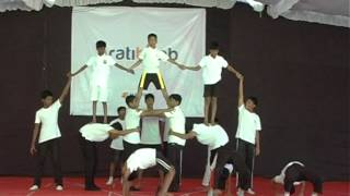 Download Human Pyramid formation by Grade 5,6,7,8,9 Video