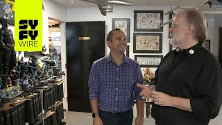 Download John Byrne Gives Us A Tour Of His Studio   SYFY WIRE Video