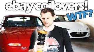 Download EBAY COILOVERS REVIEW! - I bought them so you don't have to! Video
