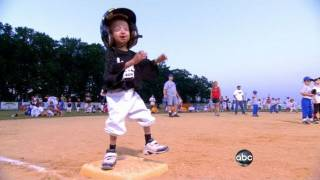 Download Pint-Sized Boy's Big Baseball Dream | ABC World News Tonight | ABC News Video