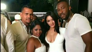 Download Westindies Cricket Players with their hot Wives | Big Bash Cricket League BBL | India v South Africa Video