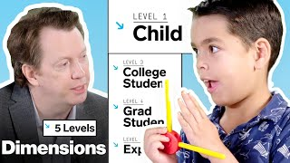 Download Physicist Explains One Concept in 5 Levels of Difficulty | WIRED Video