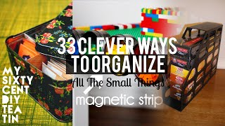 Download 33 Organizing small things ideas Video