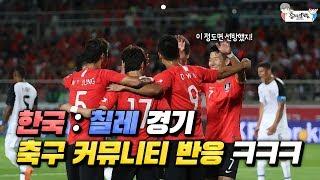 Download 한국 vs 칠레 경기 축구 커뮤니티 반응 ㅋㅋㅋ Video
