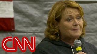 Download Kavanaugh vote could cost Democrat her job Video