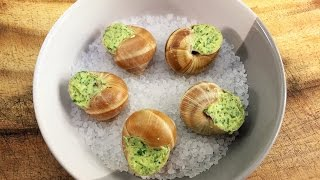 Download Escargots | Snails In Garlic Butter - How To Prepare, Cook & Eat Snails - The French Cooking Academy Video