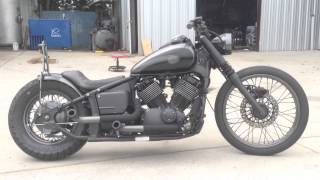 Download ″Black Smoke″ 2007 Yamaha V Star 650 Custom Bobber Video
