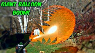 Download Giant Balloons Pop in Slow Motion Video