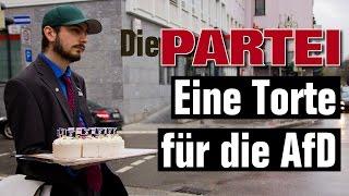 Download Die PARTEI: Eine Torte für die AfD Video