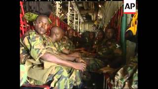 Download Nigerian troops arrive Video