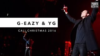 Download G-Eazy & YG Perform 'FDT' LIVE At Cali Christmas 2016 Video