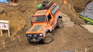 Download RC Land Rover Scale & Crawler Parcours - Erlebniswelt Modellbau Kassel Video