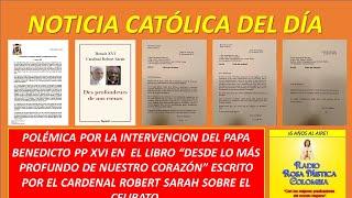 Download NOTICIA CATÓLICA DEL DIA 14 DE ENE DE 2020 - POLÉMICA EN EL VATICANO Y LA PRENSA MUNDIAL. Video