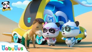 Download 【New】Mr. Camel doesn't Feel Well | Sand Storm is Coming | Super Panda Rescue Team | BabyBus Video