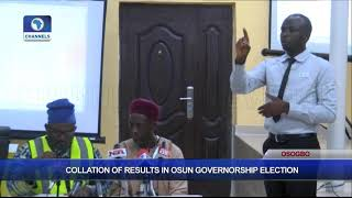 Download Collation Of Results In Osun Governorship Election Pt.9 |Osun Decides| Video