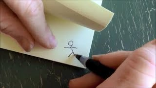 Download How to make a flip book animation - SO FUN and SIMPLE! Video