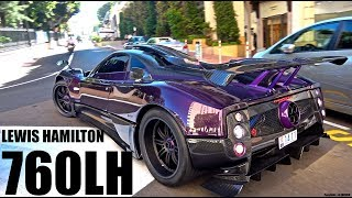 Download Justin Bieber & Lewis Hamilton Driving His Zonda 760 LH in Monaco! [Monaco Supercar Insanity #8] Video