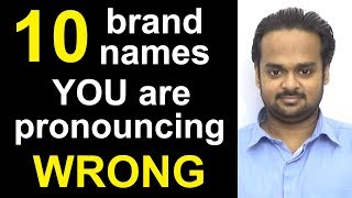 Download 10 Brand Names You are Pronouncing WRONG! - Nike, Amazon, McDonald's, Mercedes-Benz, Disney, etc. Video