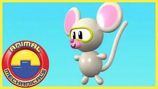 Download Animal Mechanicals 318 - Mechana Balloonosaurus Island   Full Episode HD   Cartoons for Kids Video