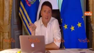 Download RENZI: SE VA MALE AL REFERENDUM NON SARO' DELLA PARTITA Video