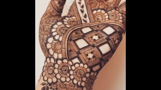 Download New Grid Palm Henna Design Video
