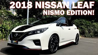 Download 2018 Nissan Leaf NISMO Edition! We Review and test drive it! Video