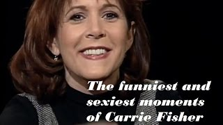 Download The Funniest and Sexiest moments of Carrie Fisher// Remembering Carrie Fisher Video