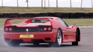Download Ferrari F40 v Ferrari F50. Like You've Never Seen Them Before /CHRIS HARRIS ON CARS Video