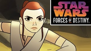 Download Star Wars Forces of Destiny First Look | Disney Video