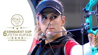 Download Gizem Elmaagacli v Yesim Bostan – compound women's gold | 2018 Conquest Cup Video