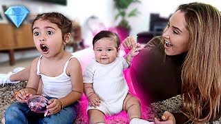 Download BABY GETS HER EARS PIERCED!!! (EMOTIONAL DAY) Video