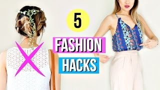 Download 5 Fashion Hacks Every Girl Must Know for Music Festivals! Video