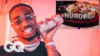 Download Quavo Shows Off His Insane Jewelry Collection | GQ Video