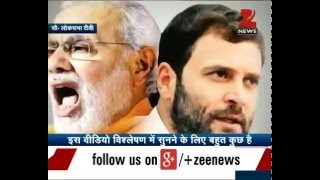 Download Rahul Gandhi vs PM Narendra Modi | The battle of speeches - Part 1 Video