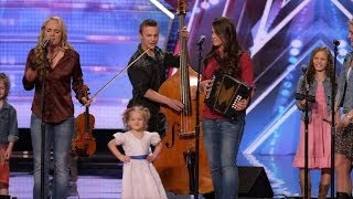 Download America's Got Talent S09E02 The Willis Clan 12 Member Family Band Too Cute Video