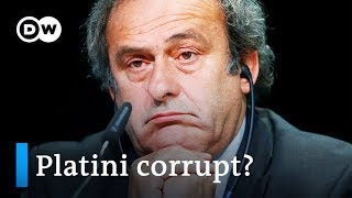 Download Former UEFA head Platini detained over Qatar World Cup award | DW News Video