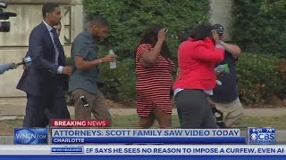 Download Keith Scott's family sees video of shooting death, lawyer says Video