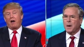 Download Donald Trump: 'Oh, you're a tough guy Jeb' Video