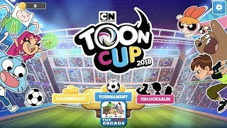 Download Toon Cup 2018 - Robin, Cyborg and Starfire hit the Soccer Field this Year (Cartoon Network Games) Video