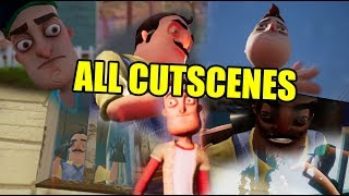 Download HELLO NEIGHBOR FULL GAME ALL CUTSCENES Video