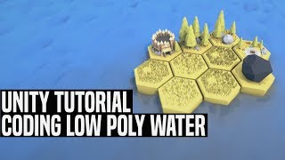Unity 5 Speed Level Design -Low Poly Waterfall Valley(Unity 5) Free