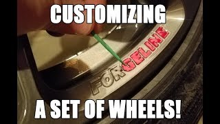 Download Customizing a set of Forgeline wheels rims! Video