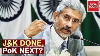 Download Foreign Min Makes Clear Stand On Taking PoK Back ; J&K Done, PoK Next? Video