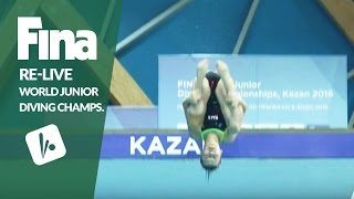 Download Re-Live - Day 6 Final - FINA World Junior Diving Championships 2016 - Kazan (RUS) Video