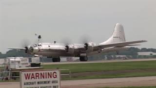 Download EAA Airventure Oshkosh 2017 B-29s ″Doc″ & ″Fifi″ plus 12 B-25s ! Video
