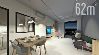 Download Singaporean apartment for a young family Video