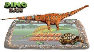 Download DINO DAN : DINO DUELS #47 - Diplodocus VS Tortoise - Make for Kids Video